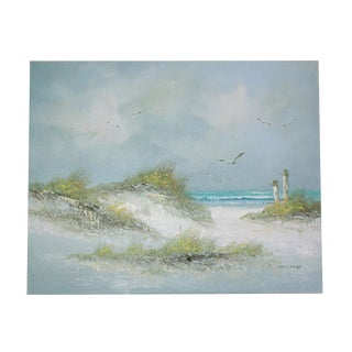 Signed Original Seascape Oil Painting by Catherine Parker Melton For Sale