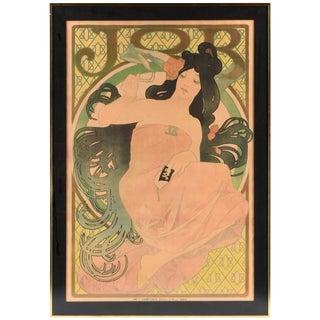 19th Century Alphonse Mucha Job Original Poster For Sale