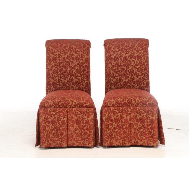 Two gorgeous chairs by Designmaster. Used very gently and from a smoke free/pet free home
