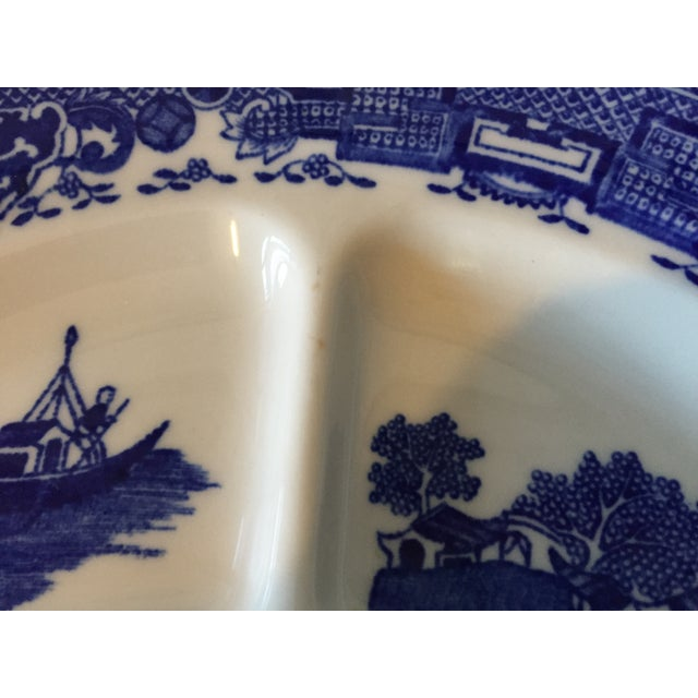 Blue Willow Restaurant Grill Plates - Set of 3 - Image 11 of 11