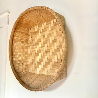 Round Woven Gathering Basket Preview