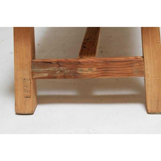 1970s 1970s Organic Teakwood Continental Bench Coffee Table For Sale - Image 5 of 6