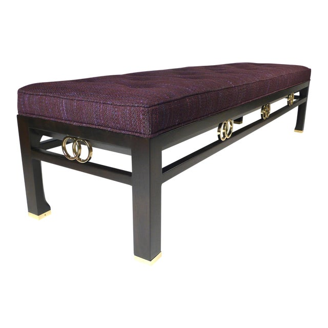 Michael Taylor for Baker Far East Collection Benches For Sale