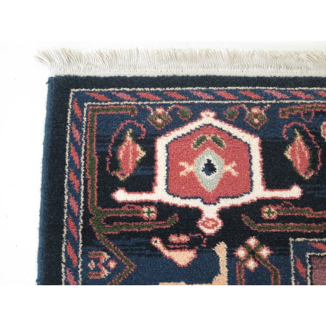 Traditional 1990s Vintage Karastan Pictorial Rug- 8′7″ × 11′6″ For Sale - Image 3 of 10