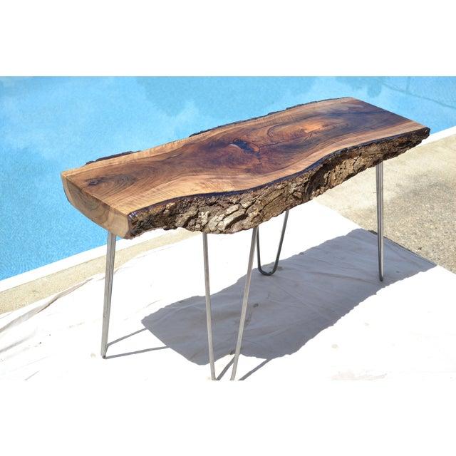 Live Edge Walnut Table - Image 4 of 7
