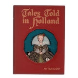 """Image of 1950 """"Tales Told in Holland"""" Coffee Table Book For Sale"""