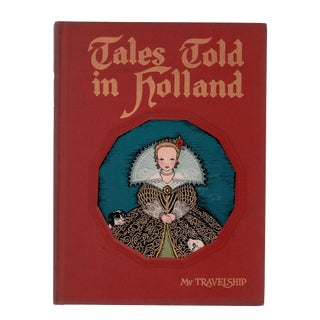 """1950 """"Tales Told in Holland"""" Coffee Table Book For Sale"""