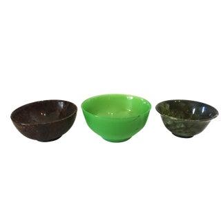 Asian Decorative Bowls S/3
