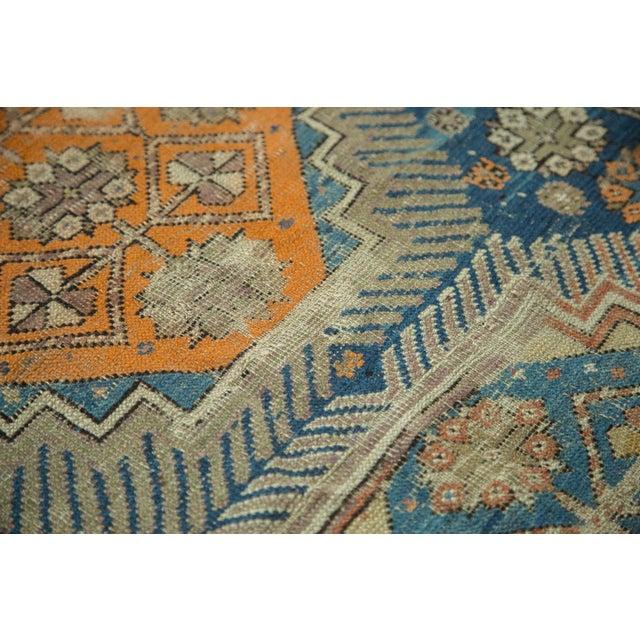 """Antique Caucasian Square Rug - 3'6"""" x 4'4"""" - Image 6 of 10"""