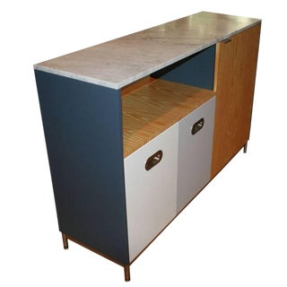 Pine and Lacquer Utility Island For Sale