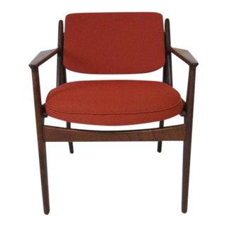 Arne Vodder Tilt Back Armchair, Denmark For Sale