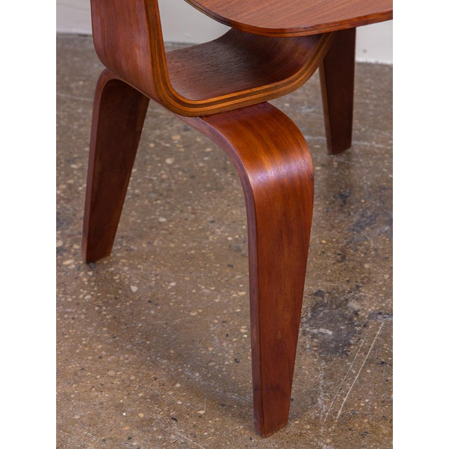 Wood Early Eames Walnut Dcw Chairs for Herman Miller - a Pair For Sale - Image 7 of 12
