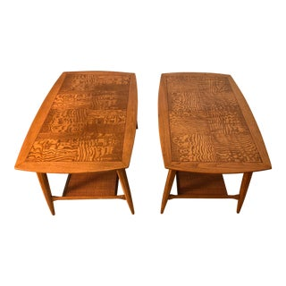 1950s Mid Century Modern Tomlinson Side Tables - a Pair For Sale