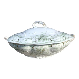 J&g Meakin Utopia Tureen/Covered Oval Serving Dish - 2 Piece Set For Sale