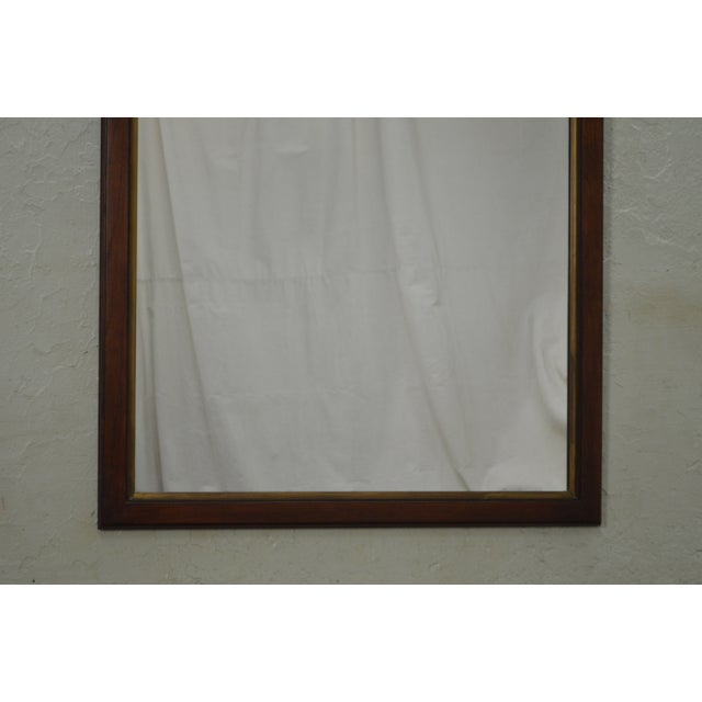 Statton Old Towne Cherry Traditional Wall Mirror For Sale In Philadelphia - Image 6 of 10