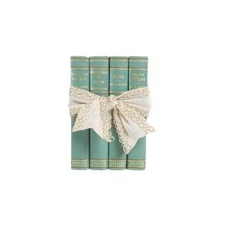 Vintage Book Gift Set in Mint - Set of 4