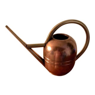 1930's Vintage Chase Copper and Brass Watering Can