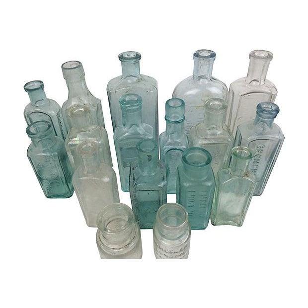 English Antique Apothecary Bottles - Set of 17 - Image 2 of 2