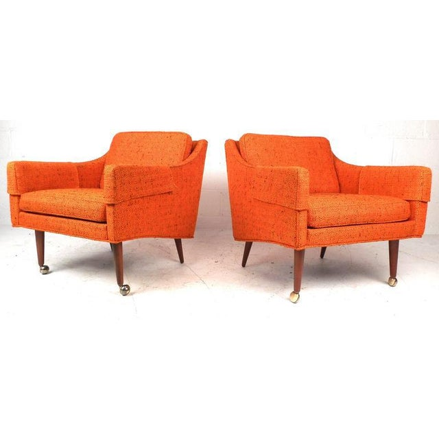Mid-Century Modern Mid-Century Modern Milo Baughman Armchairs - Set of 4 For Sale - Image 3 of 8