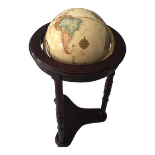 Replogle Globe on Cherrywood Stand For Sale