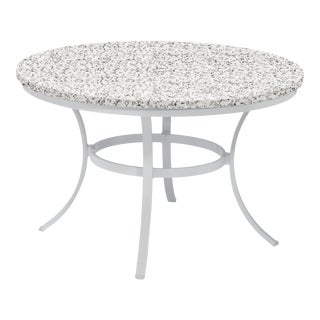 "48"" Round Outdoor Dining Table, Ash For Sale"