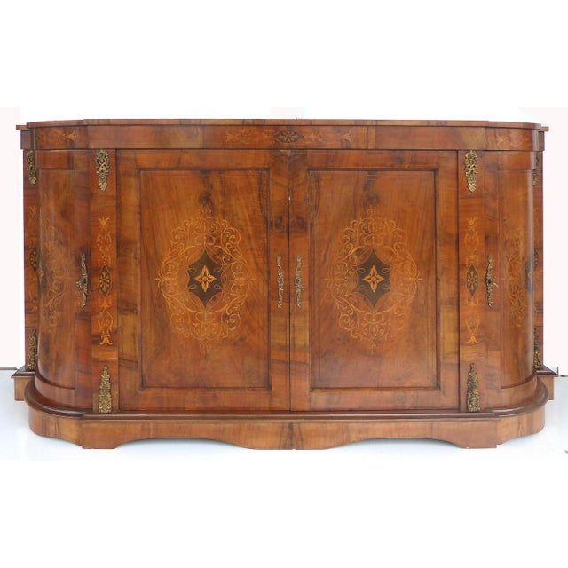 Italian Inlaid & Bronze Mount Buffet - Image 2 of 11