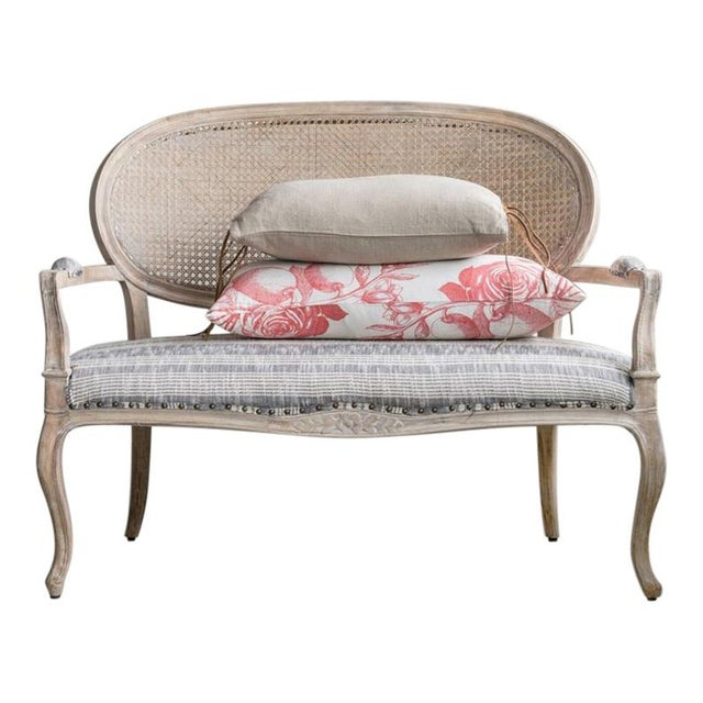 French Classic Settee For Sale - Image 4 of 6