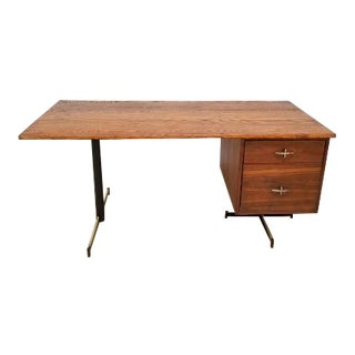 Mid Century Executive Desk For Sale
