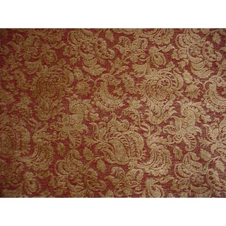 Lee Jofa Campanile Weave Floral Damask Chenille Upholstery Fabric- 2 1/2 Yards For Sale