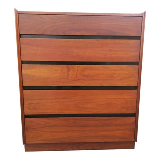 1960s Vintage Merton Gershun for Dillingham Espirit Tallboy Dresser For Sale