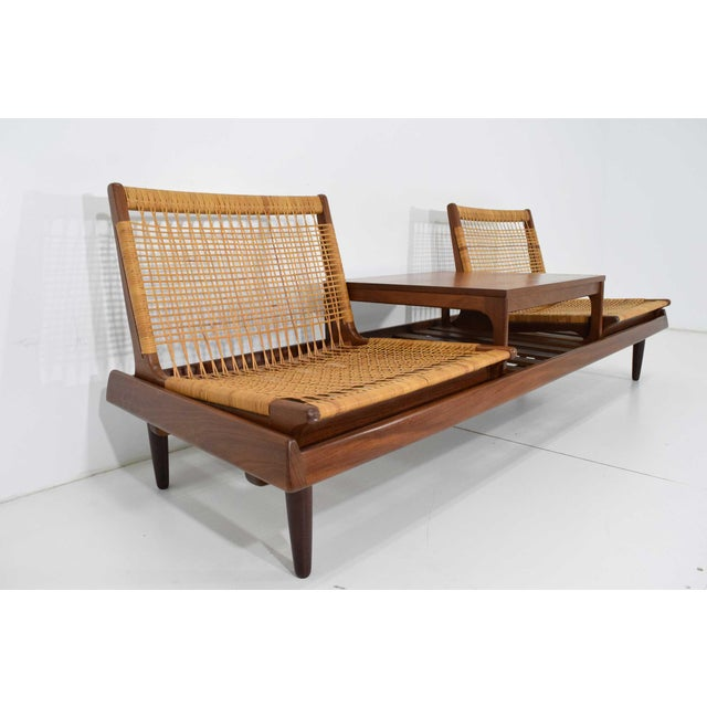 This bench was designed by Hans Olsen in 1957. It was a featured item in case study house #20, referred to as the Bass...