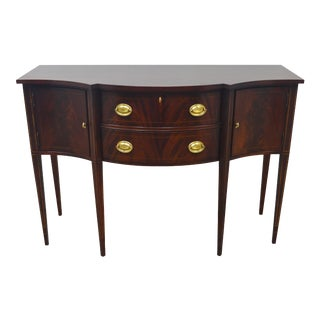 Hickory Chair Mahogany Inlaid Sideboard For Sale