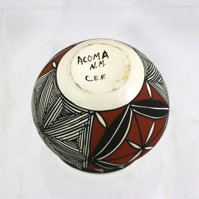 Vintage Acoma Native American Art Pottery - Image 5 of 5