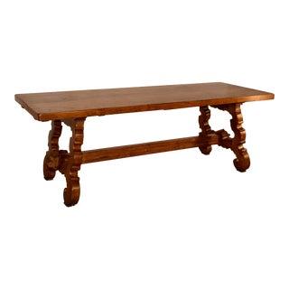 19th Century Spanish Oak Table For Sale