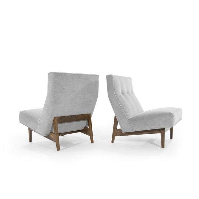 Classic Slipper Chairs by Jens Risom, Circa 1950s - a Pair For Sale In New York - Image 6 of 13