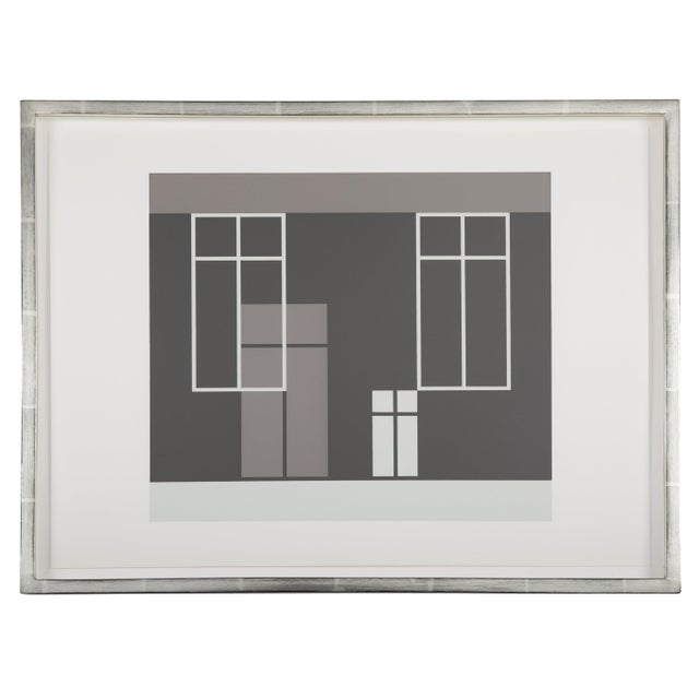 Abstract Josef Albers From Formulation: Articulation, 1972 Silkscreen Prints, Folio I / Folder 21 For Sale - Image 3 of 3