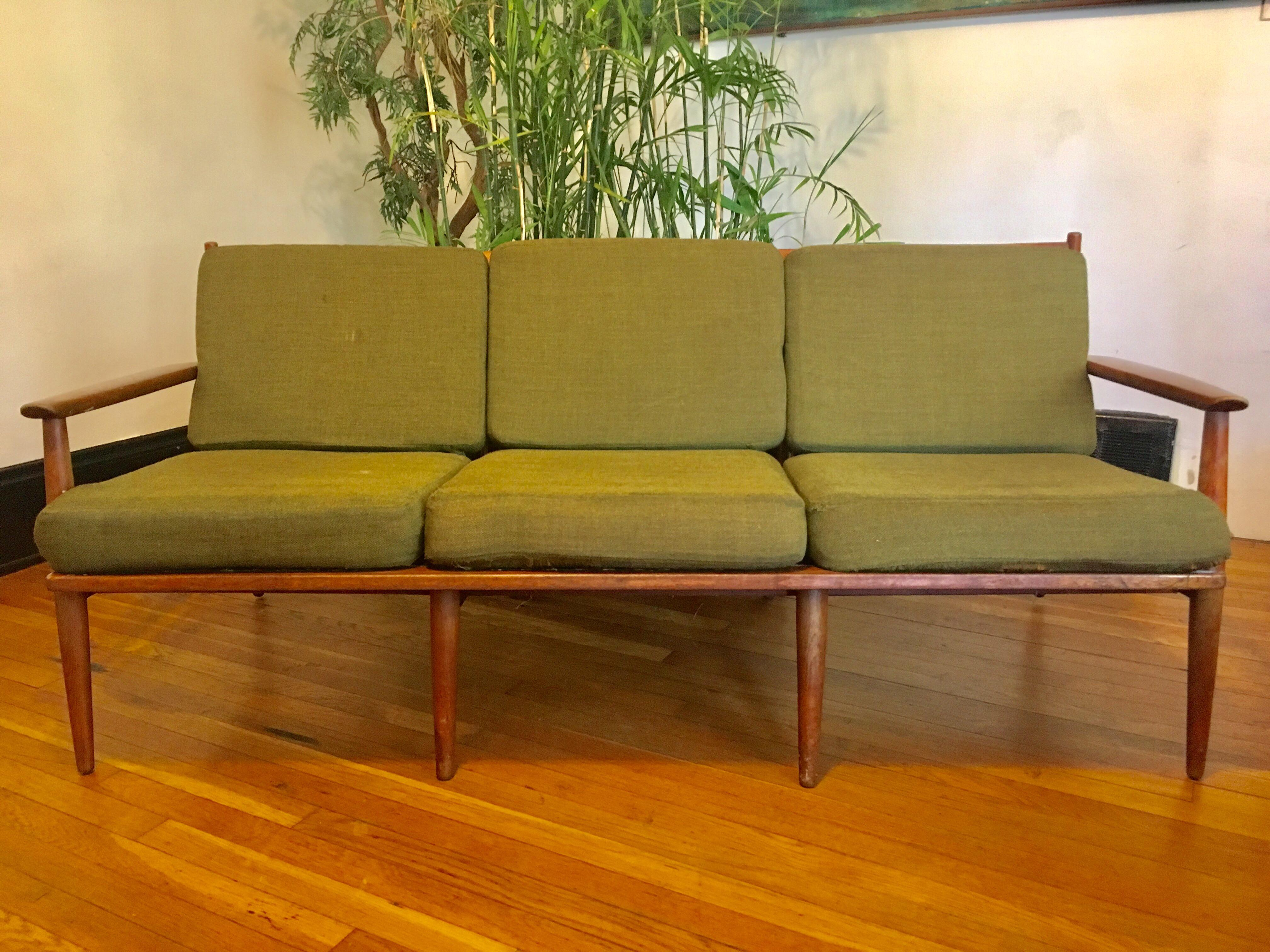 1960s 1960s Mid Century Modern Baumritter Sofa For Sale   Image 5 Of 5