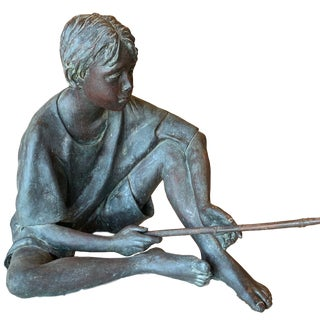 "Susanne Vertel ""Dream Catcher"" Bronze Statue For Sale"