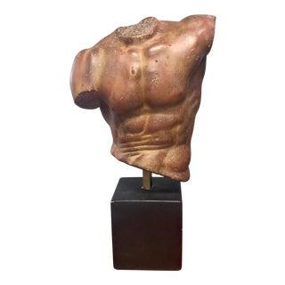 Alva S. Eylanbekov 20th Century Greek/Roman Style Torso Sculptural