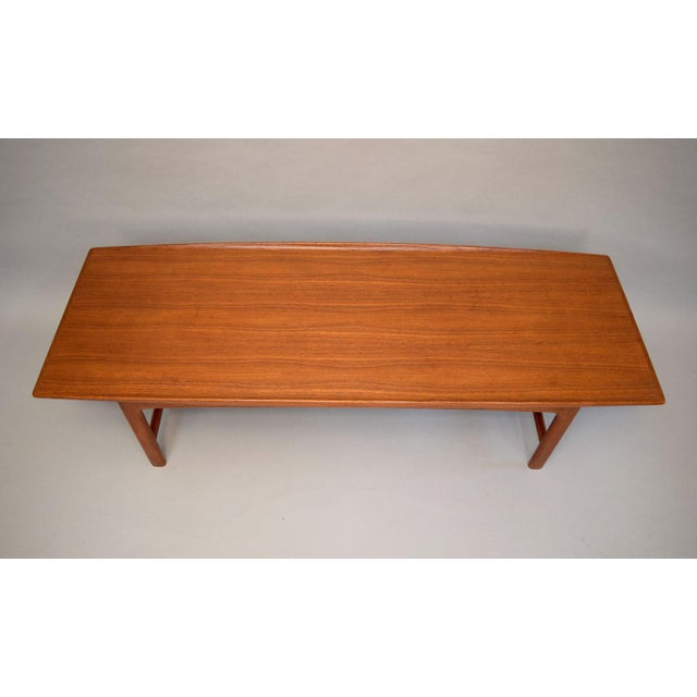 Dux Folke Ohlsson Sculptural Teak Coffee Table - Image 4 of 11