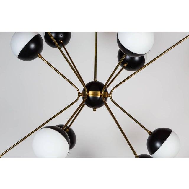 Rewire a chandelier light shop light ideas world class rewire custom orb chandelier decaso rewire custom orb chandelier image 4 of 8 audiocablefo mozeypictures Images