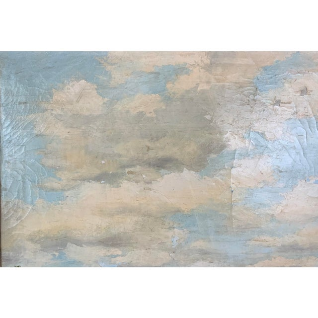 1950s French Seascape Painting by Lois Clark, Framed For Sale - Image 5 of 13