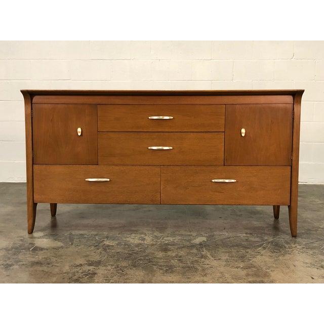 Drexel Profile Mid Century Modern Credenza Dresser Tv Stand