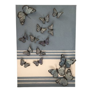 Original Nadine Kalachnikoff Collection Butterfly Painting For Sale