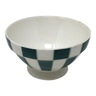 Vintage French Cafe Au Lait Bowl For Sale
