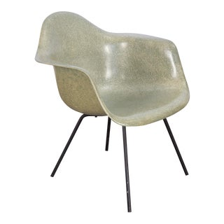 Second Generation Eames Seafoam Armshell Chair For Sale