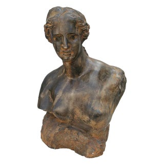 1960's Restin Woman's Bust For Sale