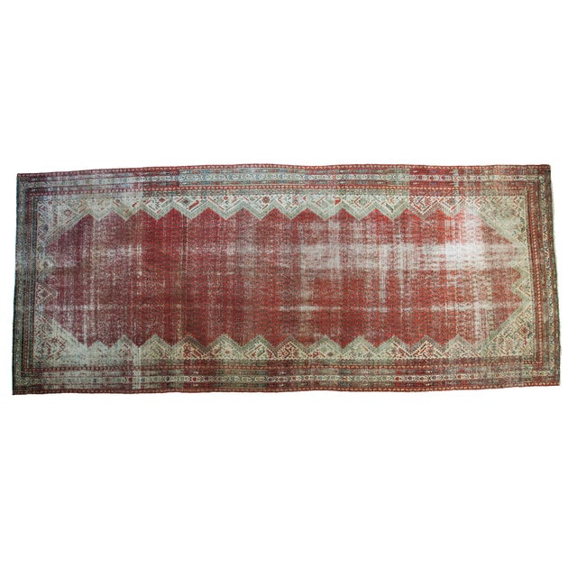"""Antique Persian Malayer Runner - 6'9"""" x 15'10"""" - Image 1 of 5"""