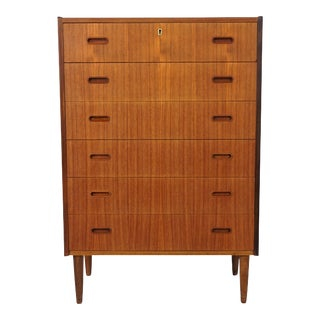 Danish Modern Original Teak Dresser - Ester