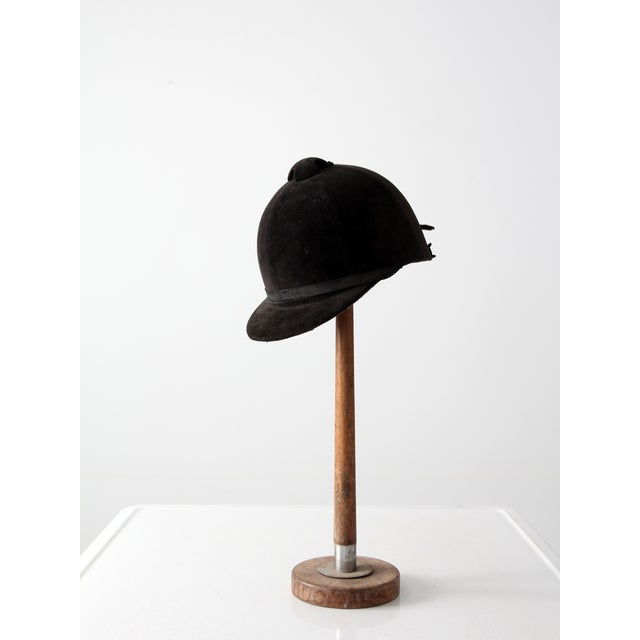 Traditional Vintage Equestrian Hat For Sale - Image 3 of 8